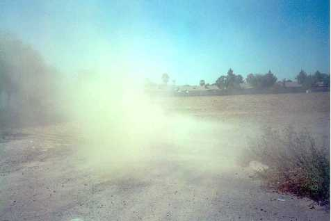 blowing-dust